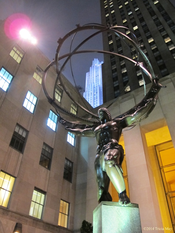 Atlas with Rockefeller Center