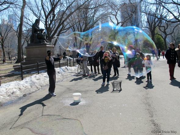 Busker in Central Park