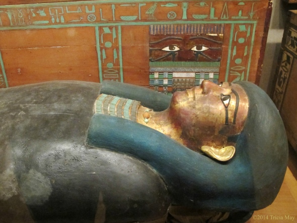 Coffin and Mummy of Khnumhotpe