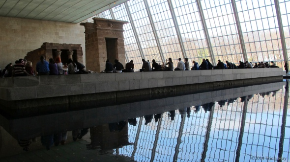 Temple of Dendur Reflection