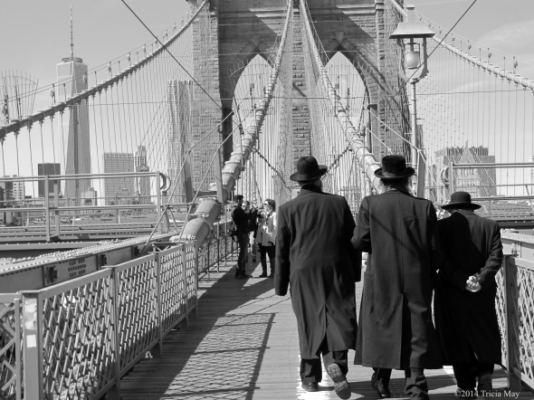 Crossing the Brooklyn Bridge
