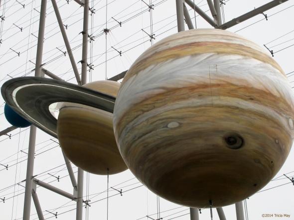 Saturn and Jupiter - Museum of Natural History