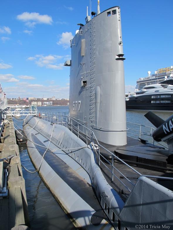 USS Growler at dock