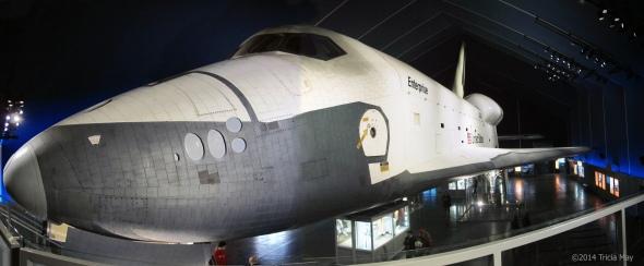 Space Shuttle Enterprise on the USS Intrepid