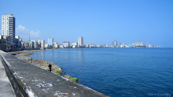 Along the Malecon ©