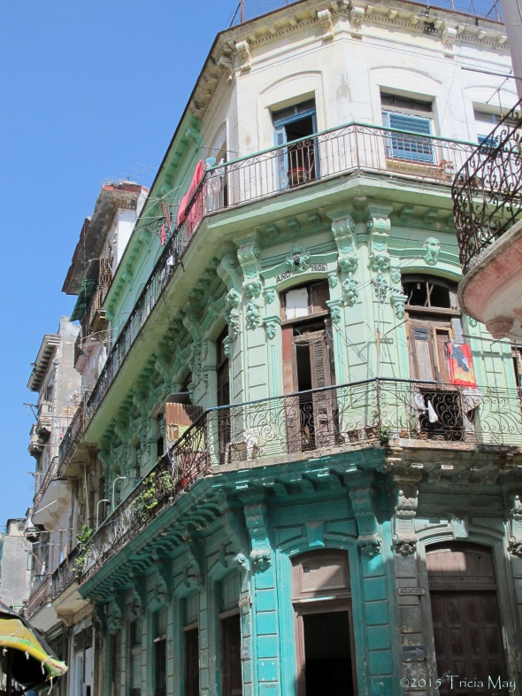 Colourful Havana balconies ©