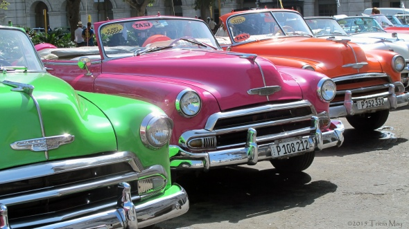 Colourful taxis 01 ©