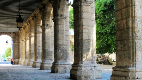 Palacio de los Capitanes Generales - arches 03 ortonish ©