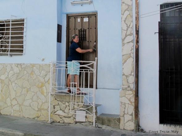 Santiago de Cuba - Carmen, my casa particular mama crop ©