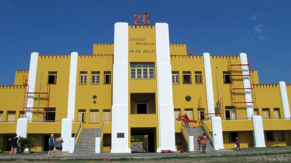 Santiago de Cuba - Cuartel Moncada - once a military barracks that was stormed by Castro...now a school. 01 ©