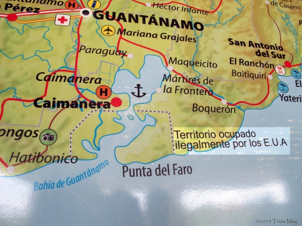 Map of Guantanamo ©