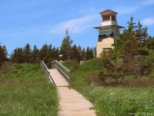 cabot-beach-lighthouse-and-path-yester-year-effect
