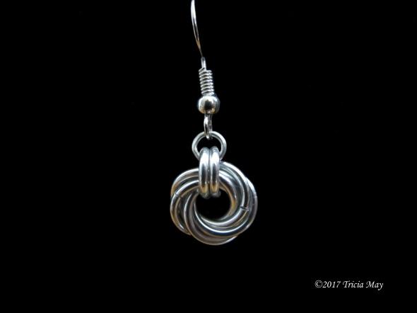 Earrings - Mobius-Silver ©